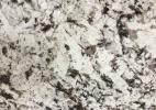 Granite snow white